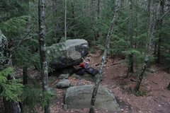 Rock Climbing Photo: Jared on Atlas V6/7