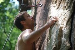 Rock Climbing Photo: Climbing Jacobs Ladder