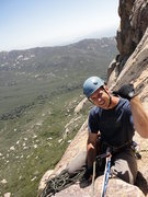Rock Climbing Photo: Top of solar slabs!
