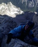 Rock Climbing Photo: Up the Grand on the Exum direct