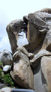Rock Climbing Photo: Roberto is movin like Bernie! The wish-it-was 2k s...