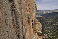 "Rock Climbing Photo: Cody Scarpella on ""The Wasp"""