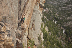 "Rock Climbing Photo: Cody Scarpella on ""The Wasp""."