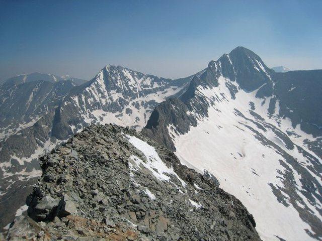 Rock Climbing Photo: LB - Blanca Traverse, 6/4/11.