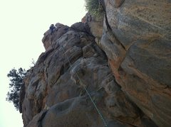 Rock Climbing Photo: Mixed Lead for the Tower