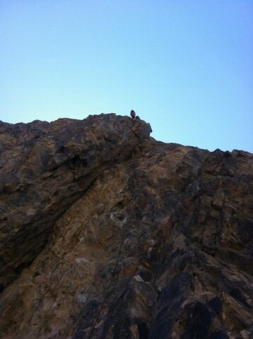 "On Crossfire Crag-""Change the Scene"""