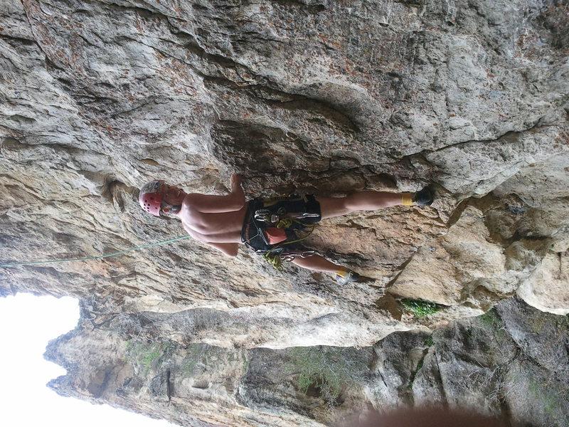 Rock Climbing Photo: Limestone my favorite ~;)