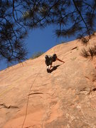 Rock Climbing Photo: Myong climbing Isis.