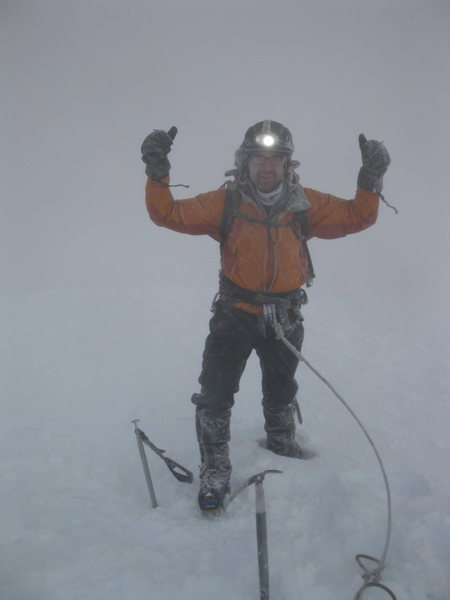 Rock Climbing Photo: Cotopaxi Summit 19,347ft