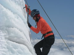 Rock Climbing Photo: Mt. Rainier Crevasse