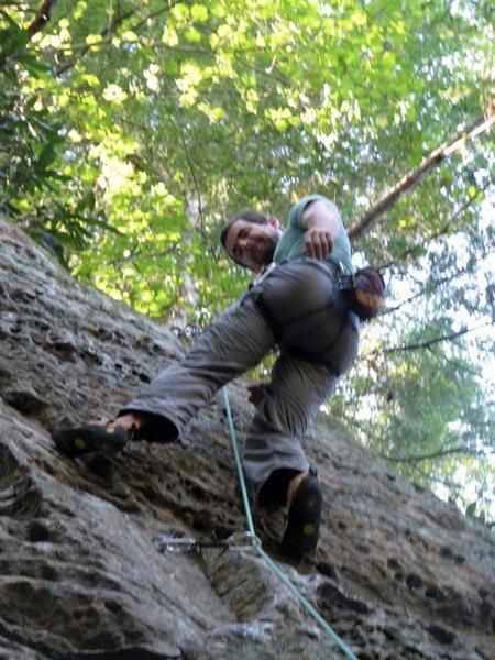 Rock Climbing Photo: Bulldozer 5.10a RRG