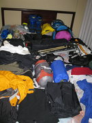 The Gear for Cotopaxi
