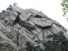 Rock Climbing Photo: the dome boulder canyon