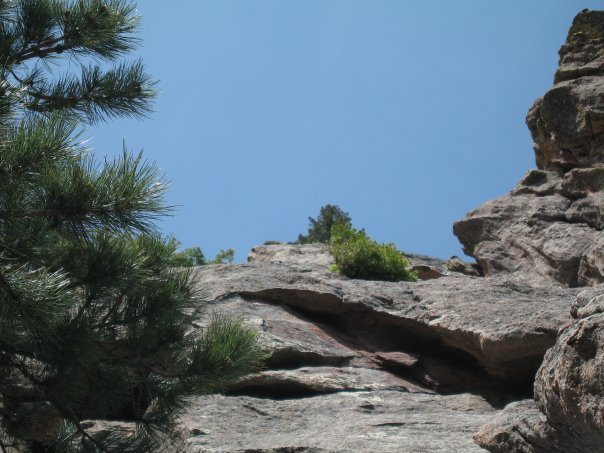 bottom of the first flat iron, boulder