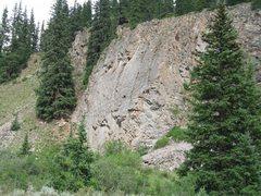 Rock Climbing Photo: cecille ville slab