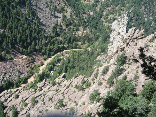 Eldorado canyon swansens arete