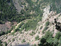 Rock Climbing Photo: Eldorado canyon swansens arete