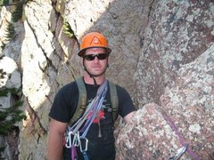 Rock Climbing Photo: third anchor swansens arete the boulder I was hold...