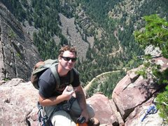 Rock Climbing Photo: top of swansens
