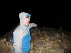Rock Climbing Photo: top of mt elbert second tallest in lower 48