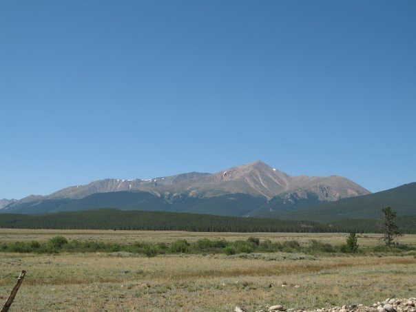 MT Elbert from afar<br>