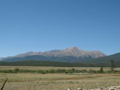 Rock Climbing Photo: MT Elbert from afar