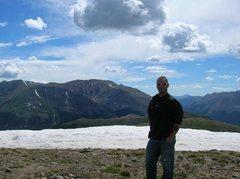 Rock Climbing Photo: top of impedance pass