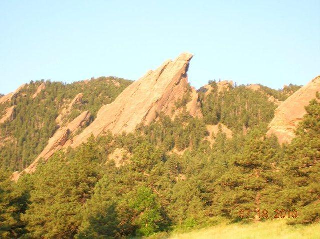 Rock Climbing Photo: third flat iron