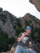 Rock Climbing Photo: top of wind ridge eldo canyon