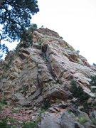 Rock Climbing Photo: bottom of wind ridge eldo canyon
