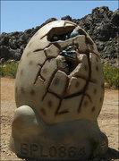 Rock Climbing Photo: Dinosaur Egg-New Jack City. Photo by Blitzo.