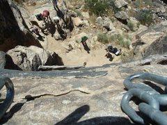 Rock Climbing Photo: Beautiful top view of the Belaying area.