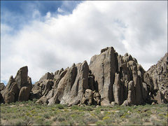 Rock Climbing Photo: Alabama Hills-Cattle Pocket. Photo by Blitzo.