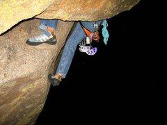 Rock Climbing Photo: Hardest 5.8 ever, awesome.
