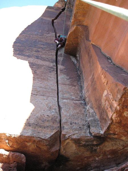 Rock Climbing Photo: nice OW