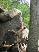 Rock Climbing Photo: Ian.