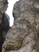 Rock Climbing Photo: The first quickdraw shown at the bottom is actuall...