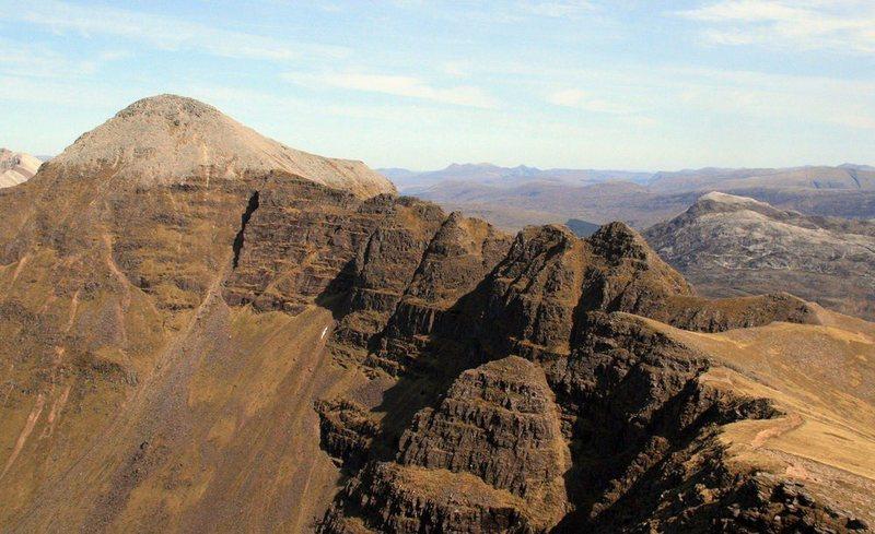 THe ridge of Laitach. photo Alaster Walker