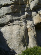 "Rock Climbing Photo: The start. The chalk ""5.11-"" is long gon..."