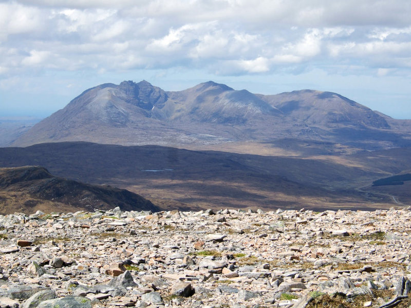An Teallach range....photo Alaster Walker