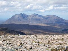 Rock Climbing Photo: An Teallach range....photo Alaster Walker