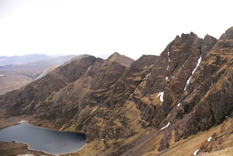 Rock Climbing Photo: An Teallach....photo Alaster Walker