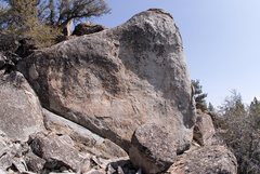 Rock Climbing Photo: This unclimbed face has several plumbs waiting to ...