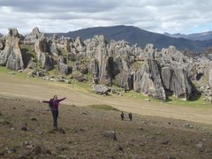 Rock Climbing Photo: Walk out to crags from refuge