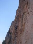 Rock Climbing Photo: Leading Big Sky.  Photo by Grant Stockford.