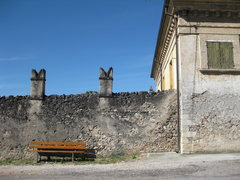 Rock Climbing Photo: Just outside Villa Della Torre.  Fumane, Valopolic...