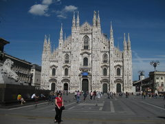 Rock Climbing Photo: Duomo in Milan.  Fourth largest church in Europe.....