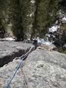 Rock Climbing Photo: Sparerib second pitch.