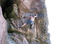 Rock Climbing Photo: Mike K. on Corner Pocket