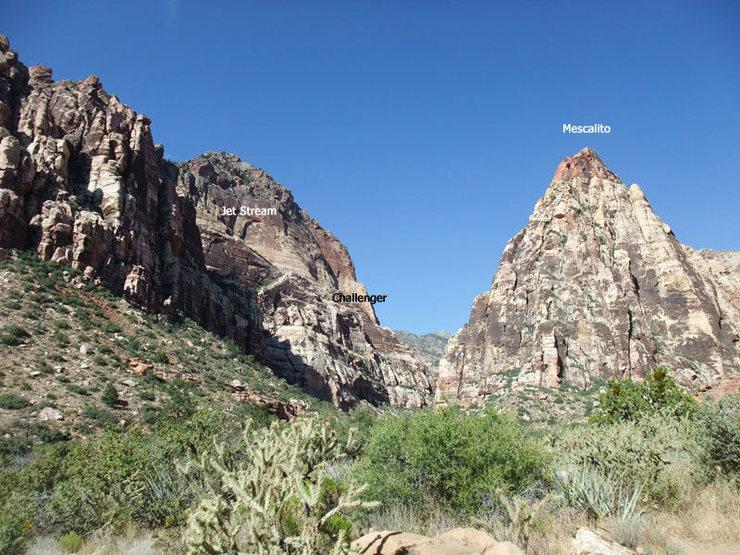 Rock Climbing Photo: Challenger Wall